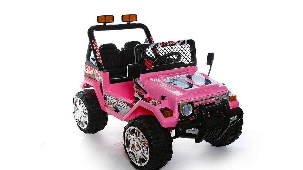 12v 4 x4 Pink Jeep