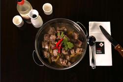 Tom Sab (Big Pot) with Porต้มแซ่บหมู