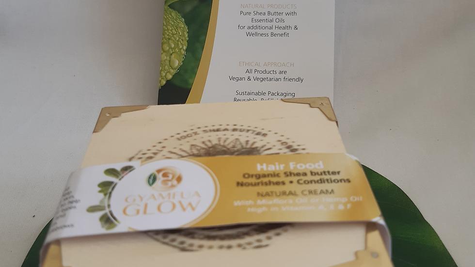 240ml Hair Food- Shea Butter with Enhanced Hemp Oil or Miaflora Oil⁶
