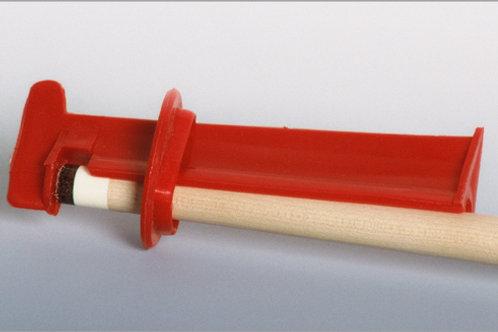 Pomeransklem, plastic rood