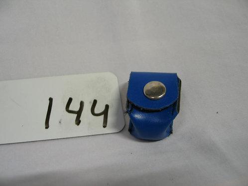 Pocket voor 1 biljardkrijtje blauw
