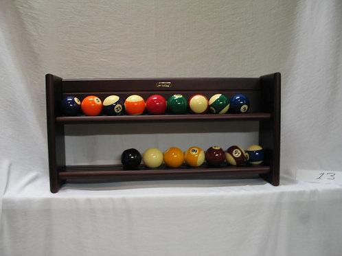 Ballenrekje voor poolballen wandmontage