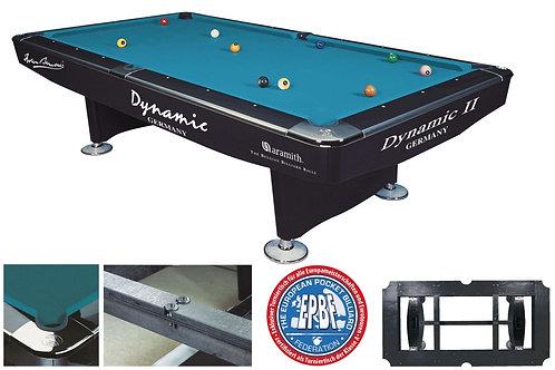 Dynamic II, shining black met Simonis 860 tournament blue