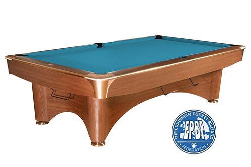 Dynamic III bruin met Simonis 860 tournament blauw bekleding