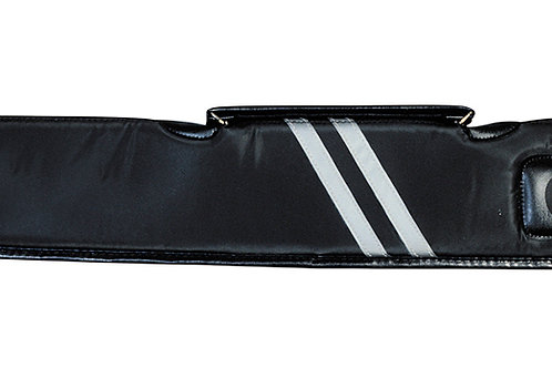 Foudraal met rits model black/stripes 1B/1S