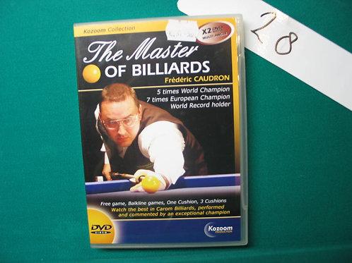 Dvd the master of billiards