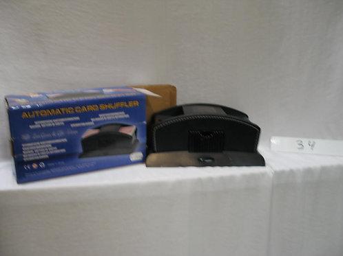 Kaartenschudder op batterijen