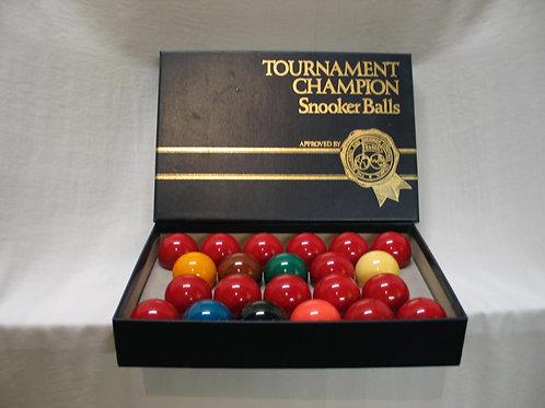 Set snooker ballen 52,4 mm aramith