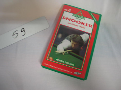 Videoband Snooker met Jimmy White