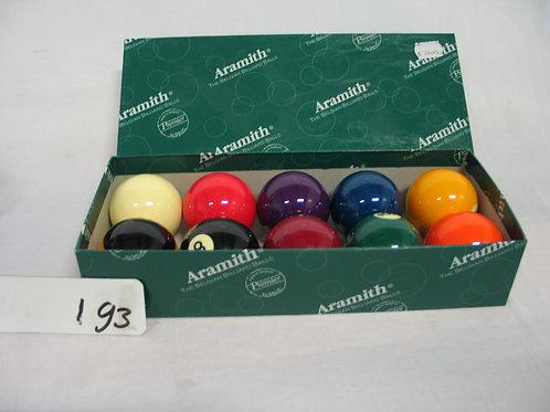 Aramith Billiard ballen set van 10 in doos 9ball set