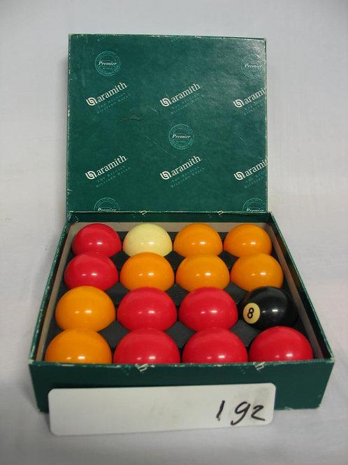 Aramith Billiard ballen set in doos english pool