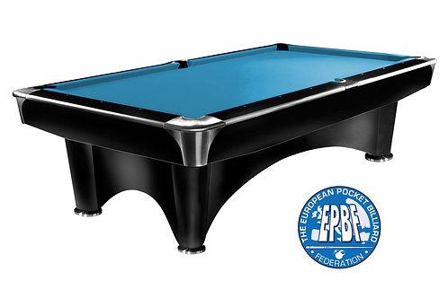 Dynamic III shining black met Simonis 860 tournament blue
