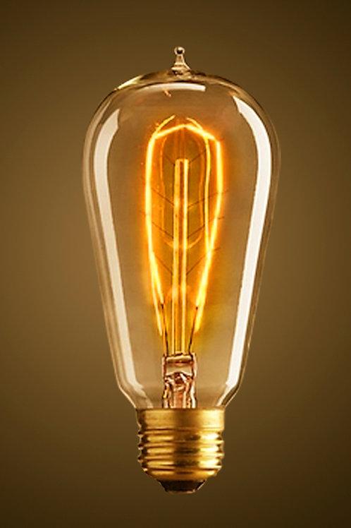 Kooldraadlamp Rustica 130mm E27 40W