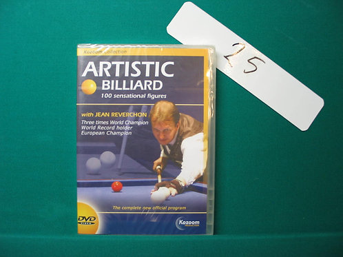 Dvd artistic billiard