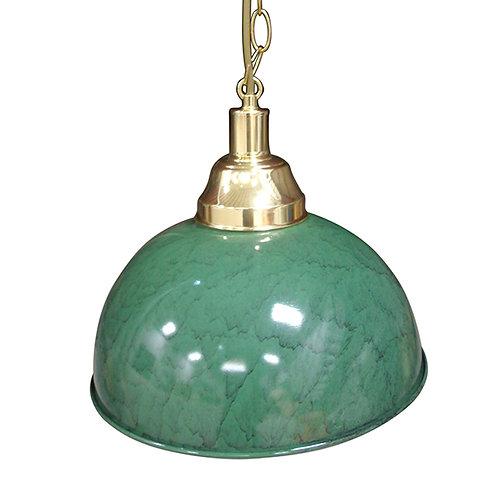 Rond klassiek 33 cm groen marmer