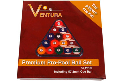 Premium pro pool ball set