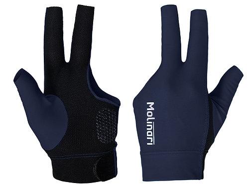 Handschoen Molinari navy/zwart