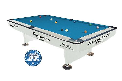 Dynamic II, 7 ft., shining white met Simonis 860 tournament blue