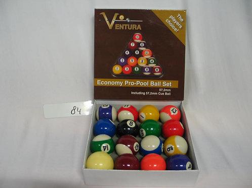 Ventura poolballen 57,2mm