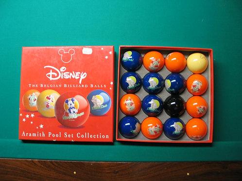 Set Disney poolballen 57,2mm