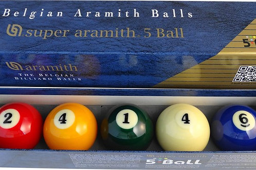 Super Aramith 5Ball set