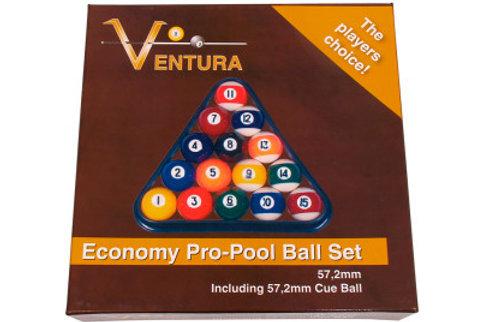 Economy poolball set