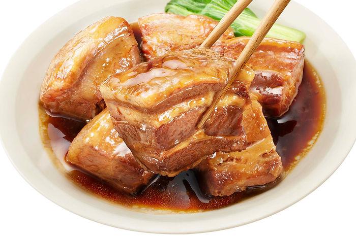 パッケージデザイン 角煮煮豚たれシズル