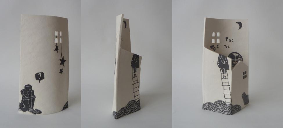"""""""Vase Sculpture"""" / Julie Loaëc"""