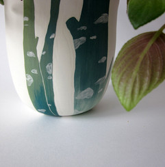 "Vase Pot de fleurs ""Arbres"""