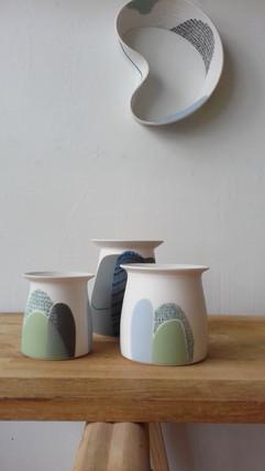 Vases et tableau