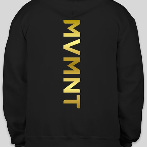 "MVMNT ""Vertical Gold""Champion Hoodies"