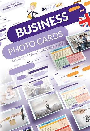 Business Photo Cards - zestaw 70 kart