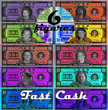 SIX FIGURES - FAST CASH  CD/DVD/Download