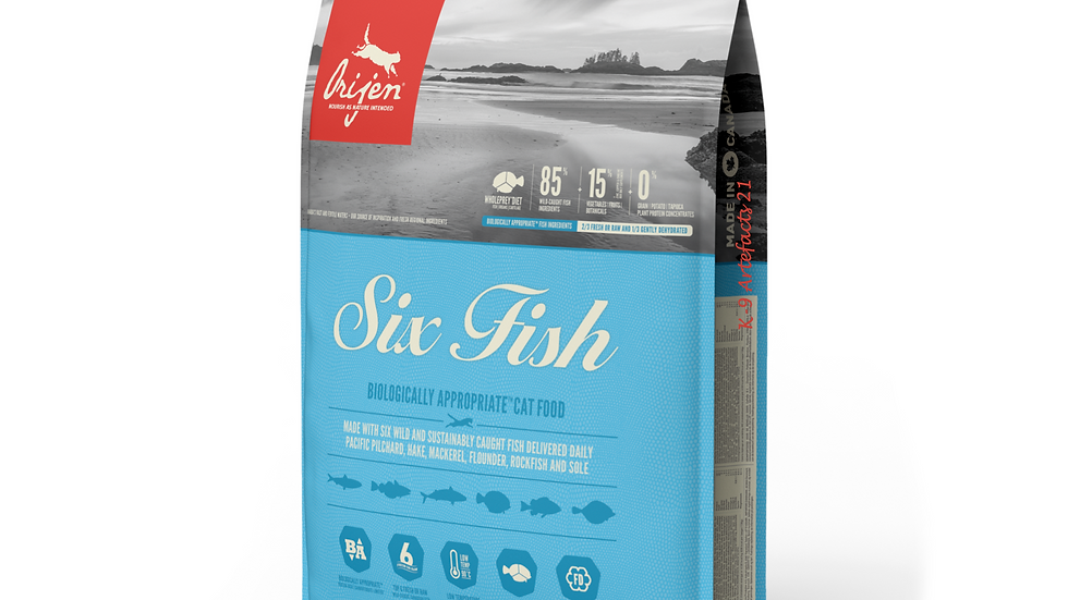 Orijen Six Fish 1.8 KG