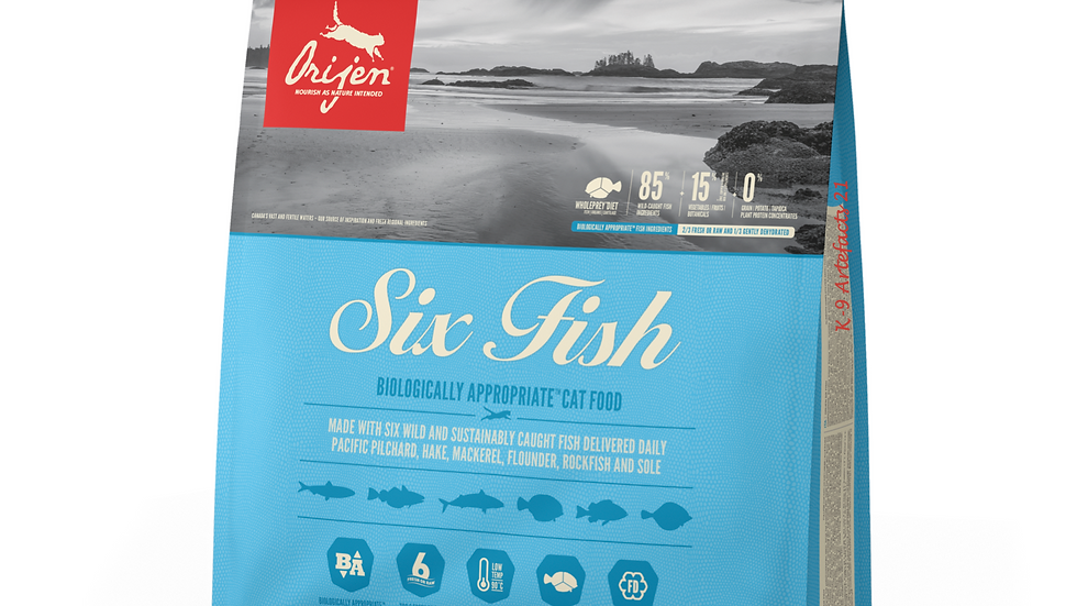 Orijen Six Fish 5.4KG