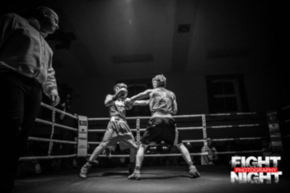Jab white collar boxing