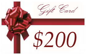 Gift Certificate Worth $200