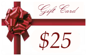 Gift Certificate Worth $25