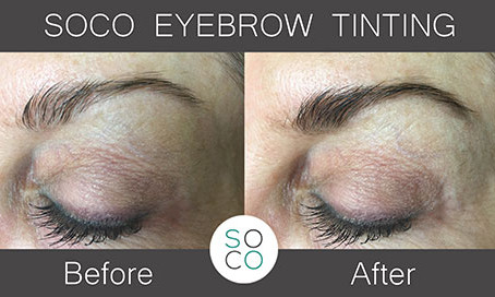 Eyebrow & Eyelash Tinting The Safe Way