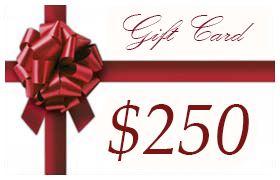 Gift Certificate Worth $250