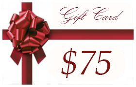 Gift Certificate Worth $75