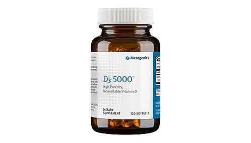 Metagenics D3 5000 IU