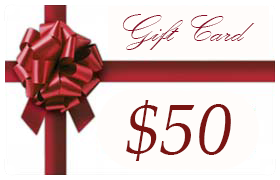 Gift Certificate Worth $50