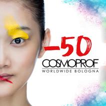 50 giorni a Cosmoprof Worldwide Bologna!