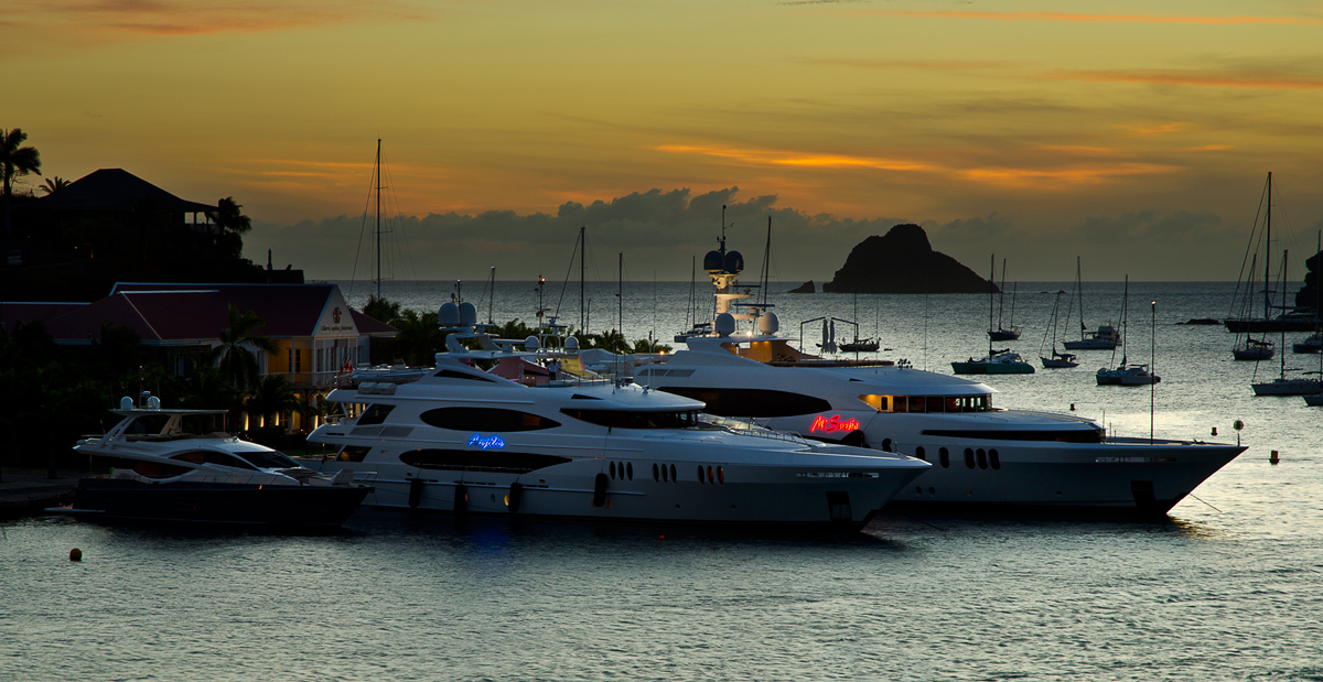 Gustavia Evening