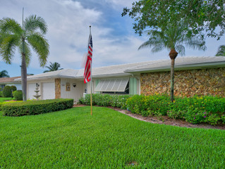 Just Listed, Palm Beach Gardens - Garden Woods 3 BR, 2 BA Single Family Pool Home