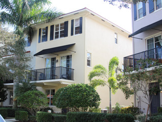Just Listed, Jupiter - Greenwich at Abacoa, 3 BR 2.5 BA Townhouse