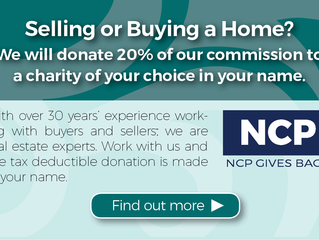North County Properties Gives Back - We will donate 20% of our commission to your chosen charity in