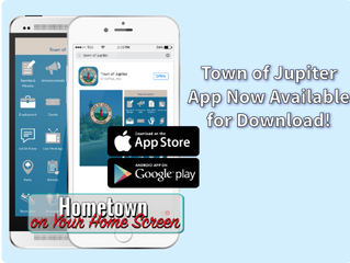 Town of Jupiter App for iPhone and Android Now Available