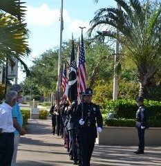Memorial Day Wreath Laying Ceremony, Palm Beach Gardens